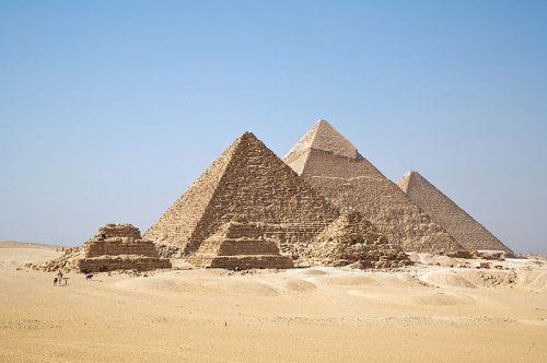 pyramids egypt may have been constructed quickly by filling them rubble
